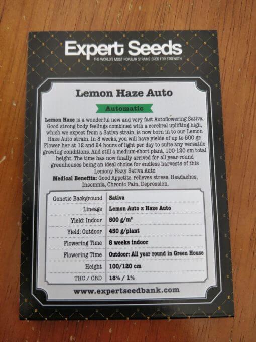 Lemon Haze Auto Expert Seeds Cannabis Seeds