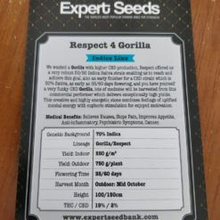 Respect 4 Gorilla - Expert Seeds - Irish Seed Bank